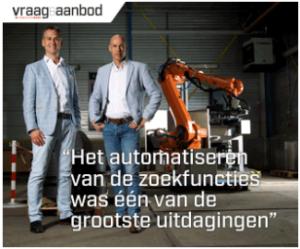 Vraag en Aanbod robotisering met Tebulo Industrial Automation