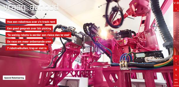 Vraag & Aanbod Robotisering editie 4